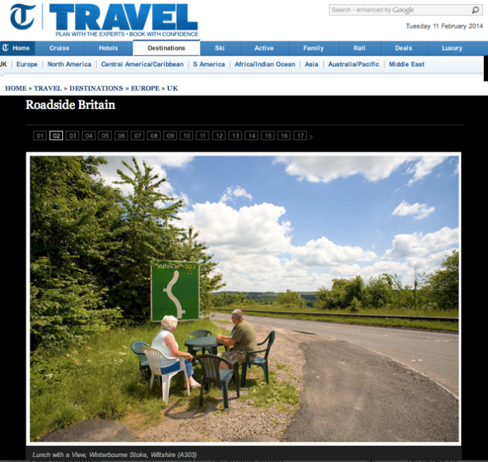 Roadside Britain in the Telegraph