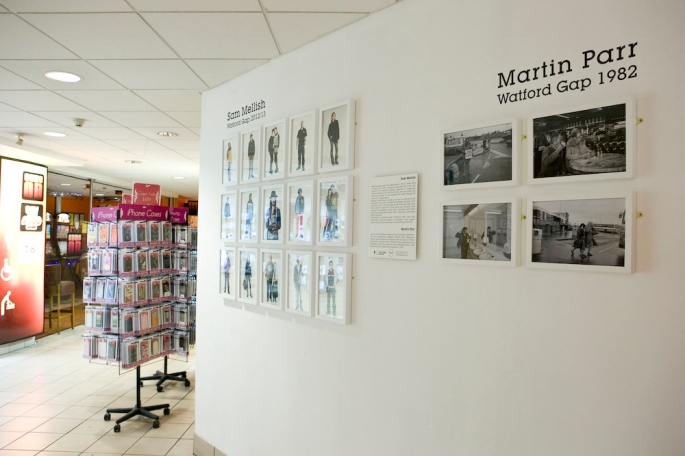 Watford Gap Exhibition with Sam Mellish & Martin Parr - Northbou