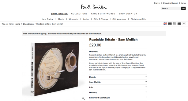 Paul Smith - Roadside Britain by Sam Mellish