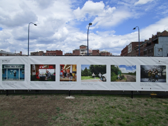 Roadside Britain Features in The Fence - Boston, MA - Sam Mellish