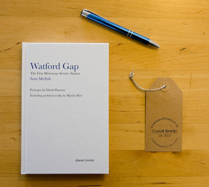 Watford Gap: The First Motorway Service Station book by Sam Mell